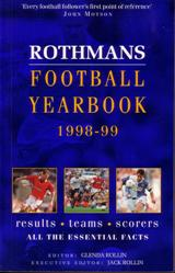 Image for Rothmans Football Yearbook 1998-99 (# 29)