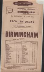 Image for British Rail - Western Region Football Excursion 1948-49