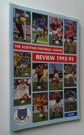 Image for Scottish Football League Review 1992-93