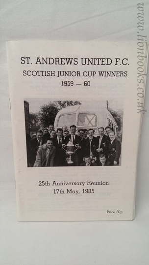 Image for St Andrews United F.C. - Scottish Junior Cup Winners 1959-60