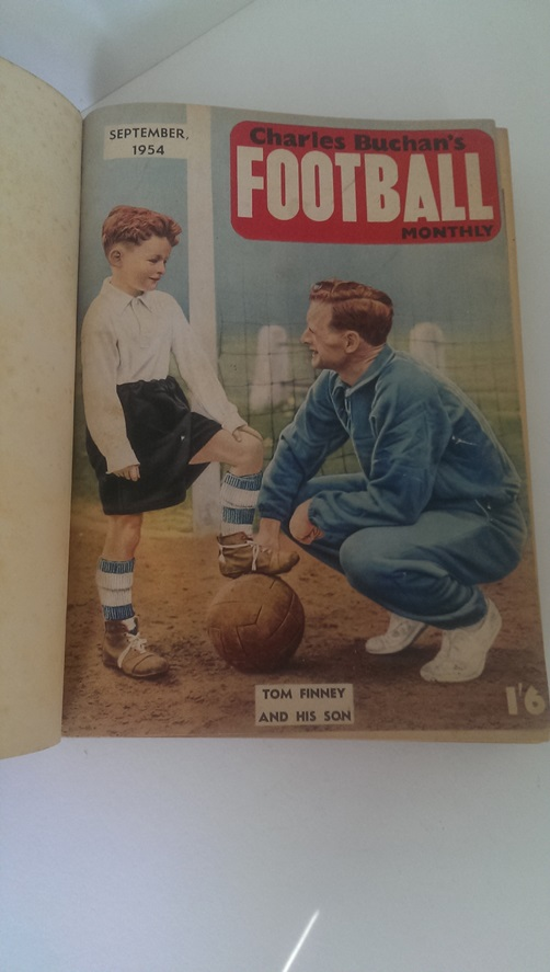 Image for Charles Buchan's Football Monthly Sept 1954 - Aug 1955