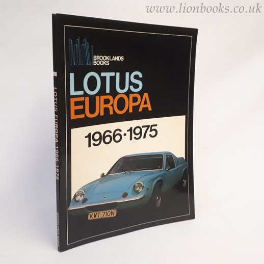 Image for Lotus Europa 1966-1975