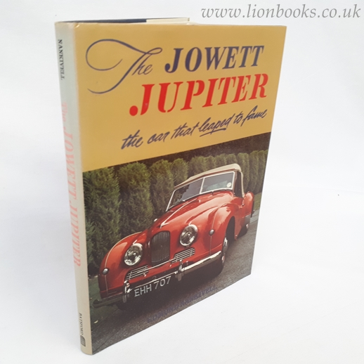 Image for Jowett Jupiter: The Car That Leaped to Fame