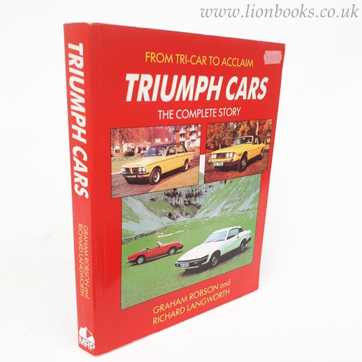 Image for Triumph Cars: The Complete Story