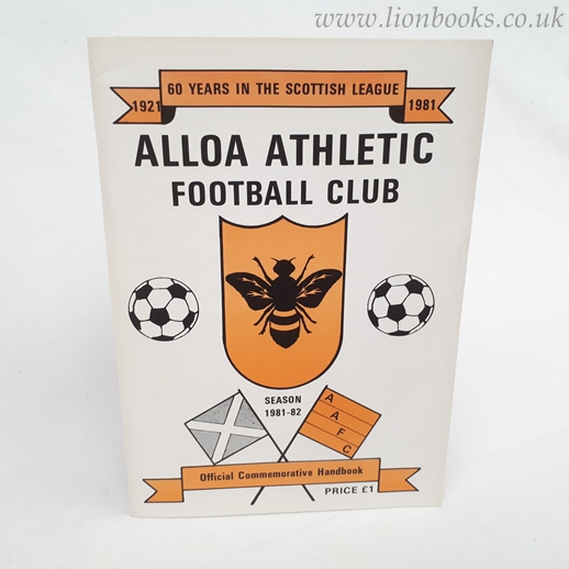 Image for ALLOA ATHLETIC - 60 Years in the Scottish League