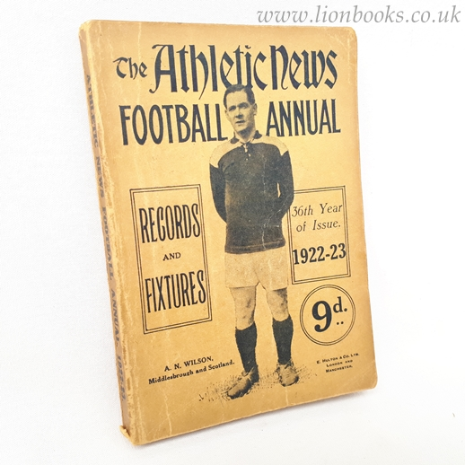 Image for The Athletic News Football Annual 1922-23