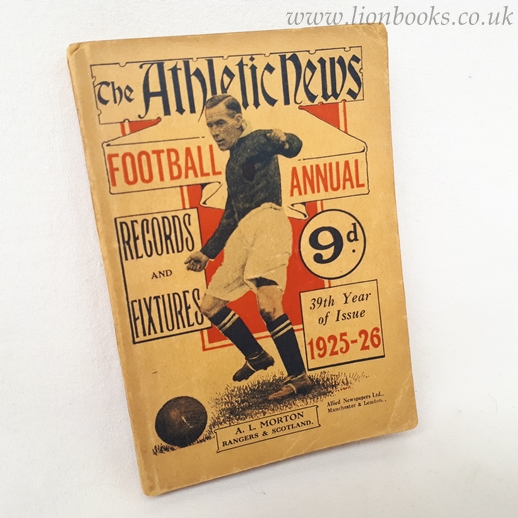 Image for The Athletic News Football Annual 1925-26