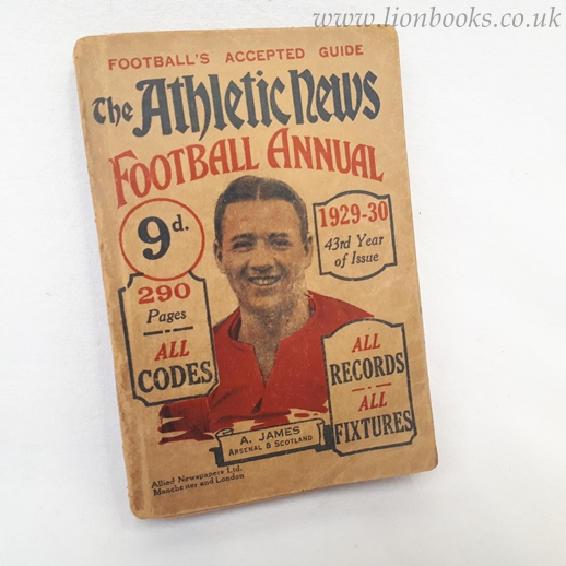 Image for Athletic News Football Annual 1929-30