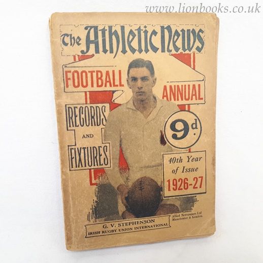Image for The Athletic News Football Annual 1926-27