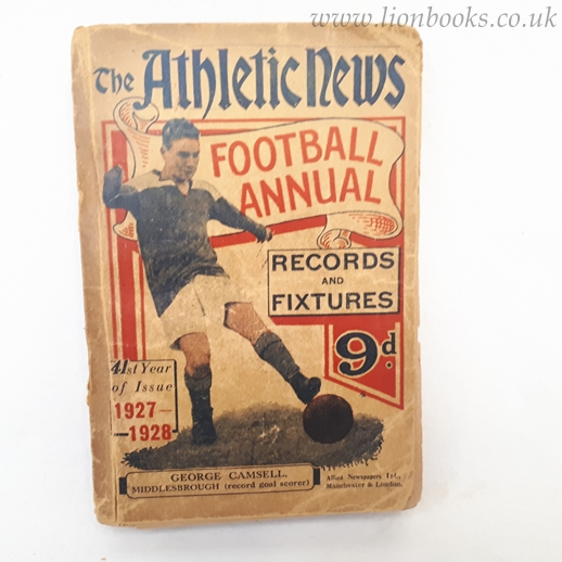 Image for The Athletic News Football Annual 1927-28