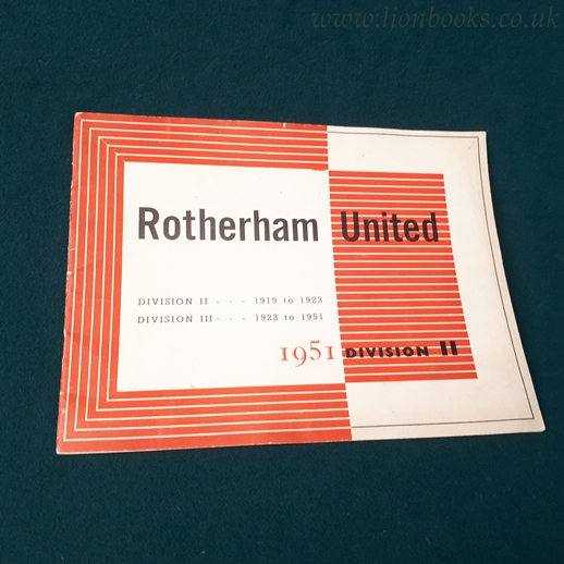 Image for Rotherham United 1951 Division II
