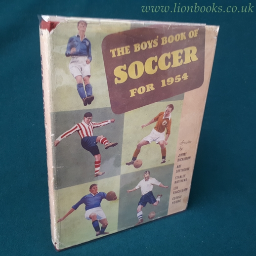 Image for THE BOYS' BOOK of SOCCER for 1954