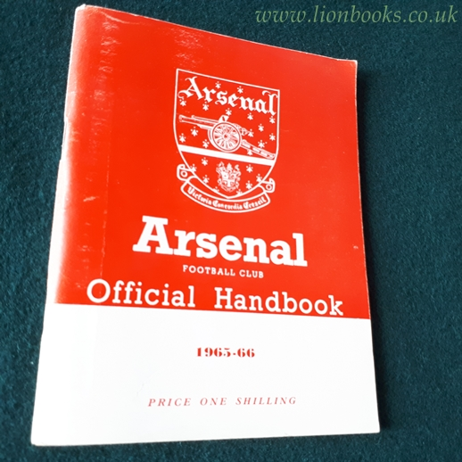 Image for Arsenal Official Handbook 1965-66