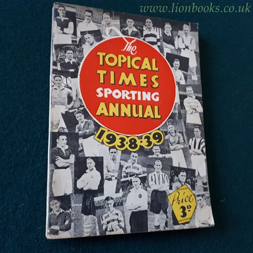 Image for Topical Times Sporting Annual 1938-1939