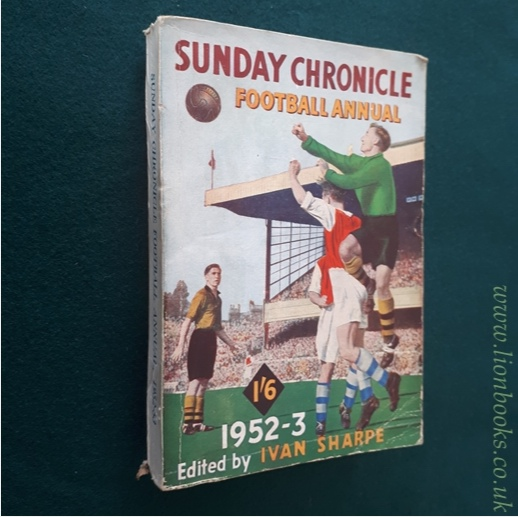 Image for Sunday Chronicle Football Annual 1952-3