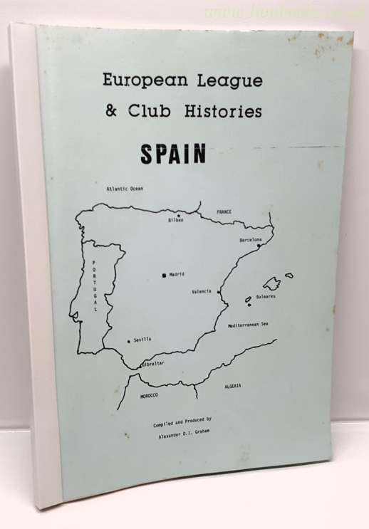 Image for European League and Club Histories - Spain
