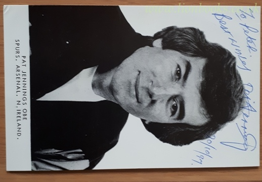 Image for Pat Jennings - Signed Photograph