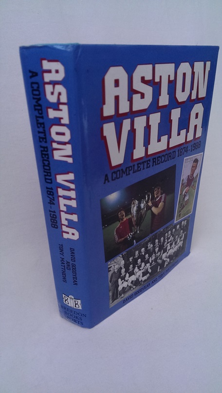 Image for Aston Villa - A Complete Record 1874-1988