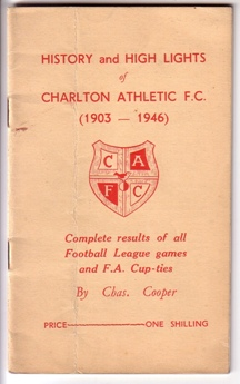 Image for History and High Lights of Charlton Athletic F. C. - 1903-1946