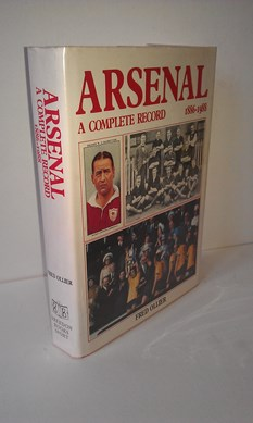 Image for Arsenal - a Complete Record 1886-1988