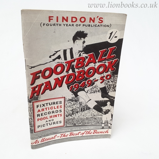 Image for Findon's Football Handbook 1949-50