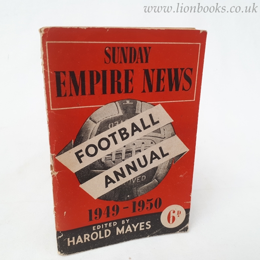 Image for Sunday Empire News Football Annual 1949-1950