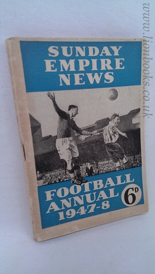 Image for Sunday Empire News Football Annual 1947-48