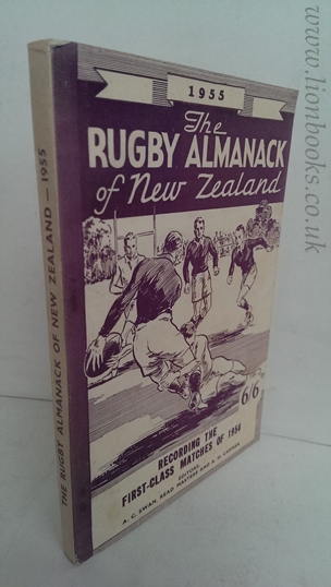Image for Rugby Almanack of New Zealand 1955