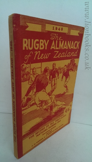 Image for Rugby Almanack of New Zealand 1948