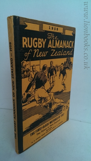 Image for Rugby Almanack of New Zealand 1958