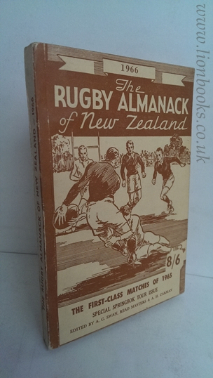 Image for Rugby Almanack of New Zealand 1966