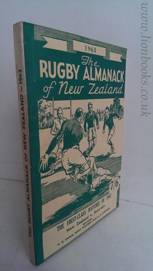 Image for Rugby Almanack of New Zealand 1963