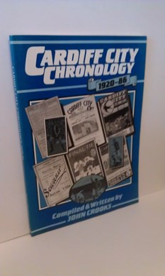 Image for Cardiff City Chronology, 1920-86