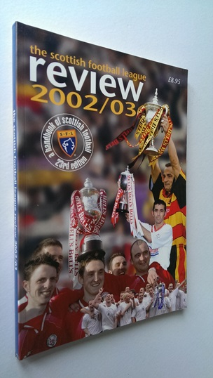 Image for Scottish Football League Review 2002-03