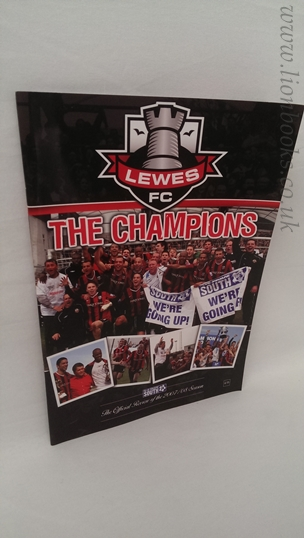Image for Lewes F C Champions Official Souviner of the 2007-08 Season