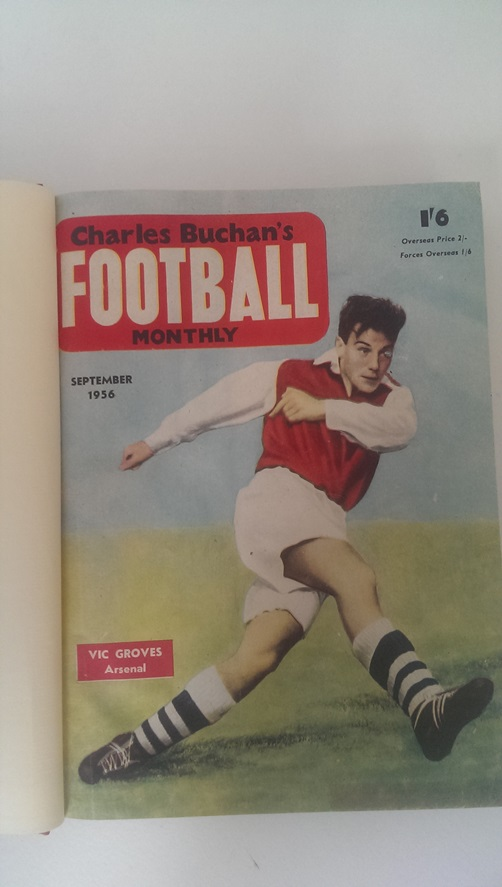 Image for Charles Buchan's Football Monthly Sept 1956 - Aug 1957