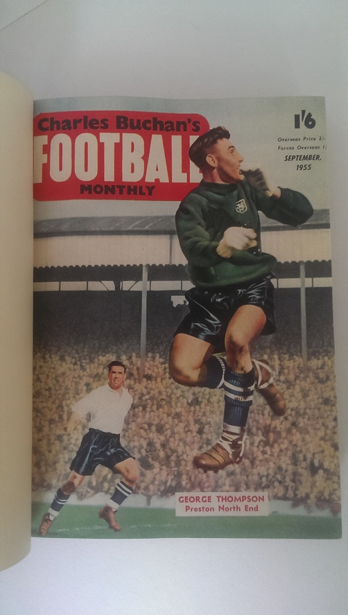 Image for Charles Buchan's Football Monthly Sept 1955 - Aug 1956