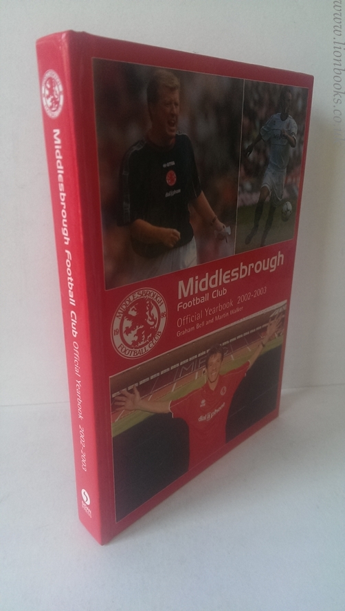 Image for Middlesborough FC Yearbook 2002-03