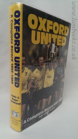 Image for Oxford United: A complete record 1893-1989