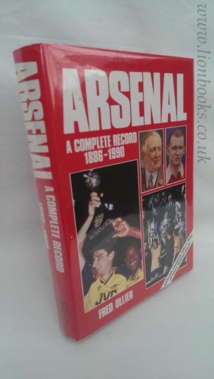 Image for Arsenal: A Complete Record, 1886-1990