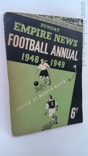 Image for Sunday Empire News Football Annual 1948-1949