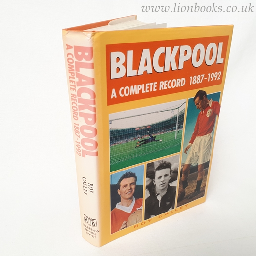 Image for Blackpool: a Complete Record, 1887-1992