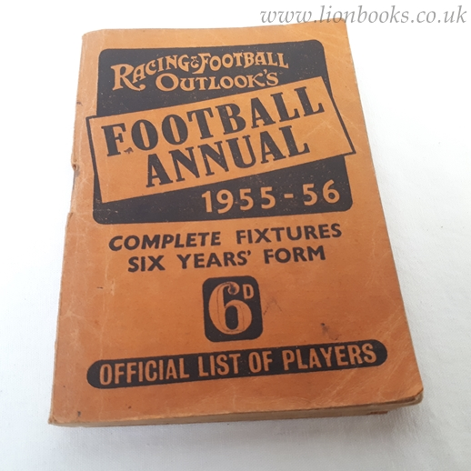 Image for Racing & Football Outlook's Football Annual 1955-56