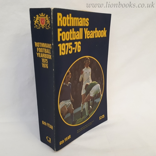 Image for Rothmans Football Yearbook 1975-76 (# 6)