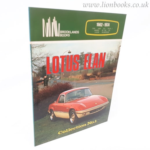 Image for Lotus Elan Collection No.1 1962 - 1974