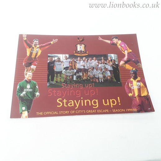 Image for Staying Up! - the Story of City's Great Escape - Season 1999-00