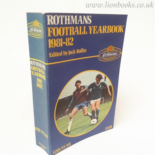 Image for Rothmans Football Yearbook 1981-82 (# 12 )