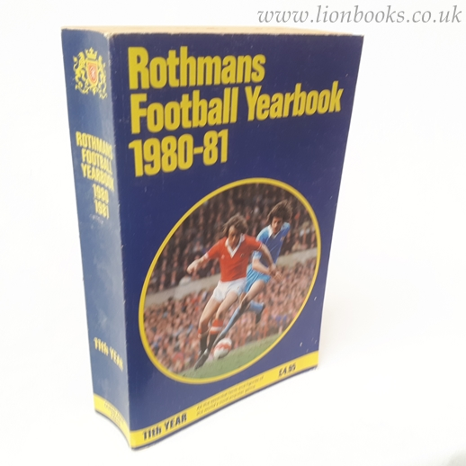 Image for Rothmans Football Yearbook 1980-81 (# 11)