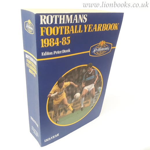 Image for Rothmans Football Yearbook 1984-85 (# 15 )