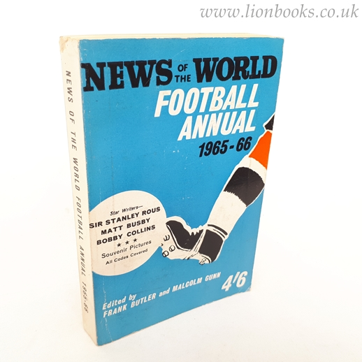 Image for News of the World Football Annual 1965-66